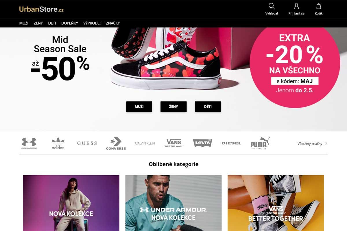 Urban store e-shop